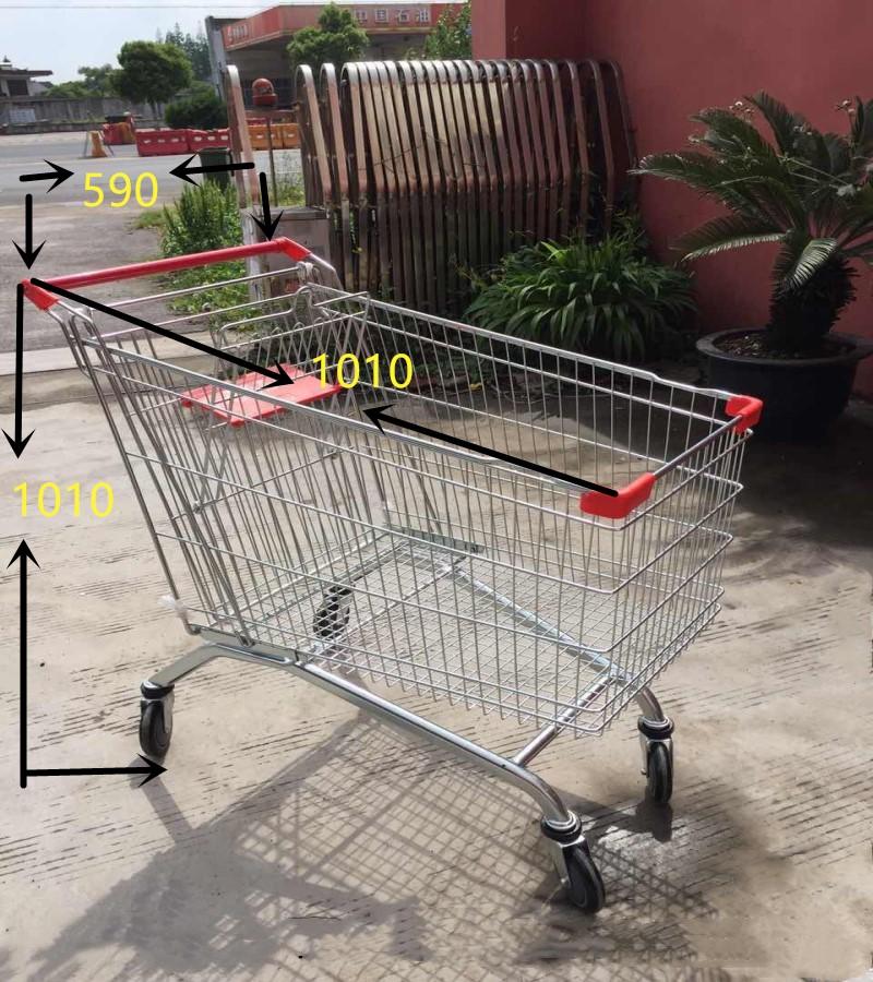 购物车 商场手推车 物业便民服务车 小推车包邮购物车买菜车 超