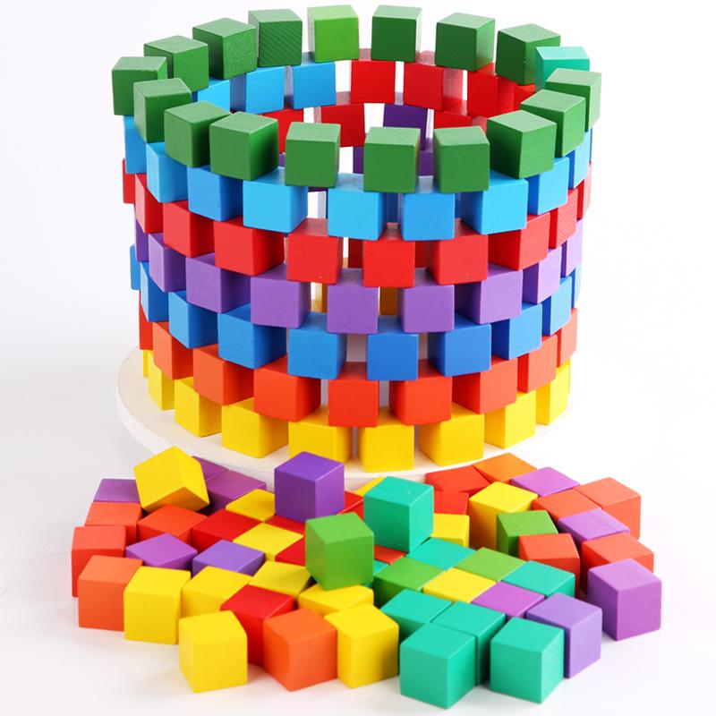 小正方体长方体积木小学生益智玩具质量如何