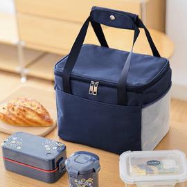 饭盒袋子保温袋大号手提铝箔上班带饭手提包加厚防水大容量便当袋