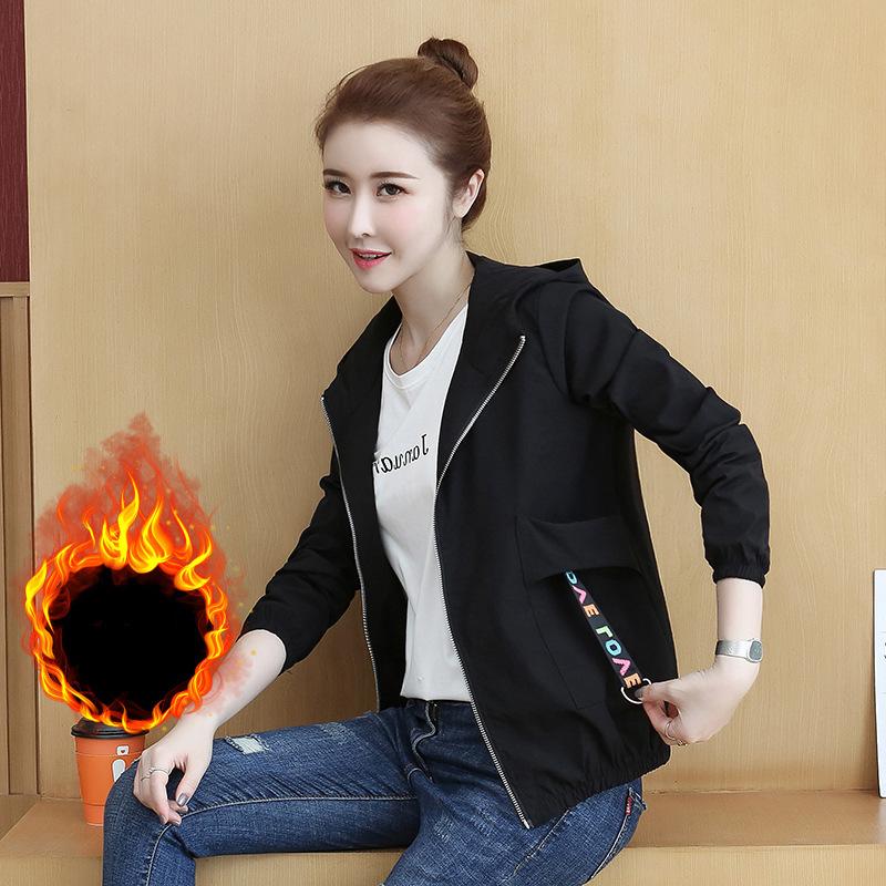 Cotton short windbreaker womens new embroidery loose casual jacket Baseball Jacket thin coat