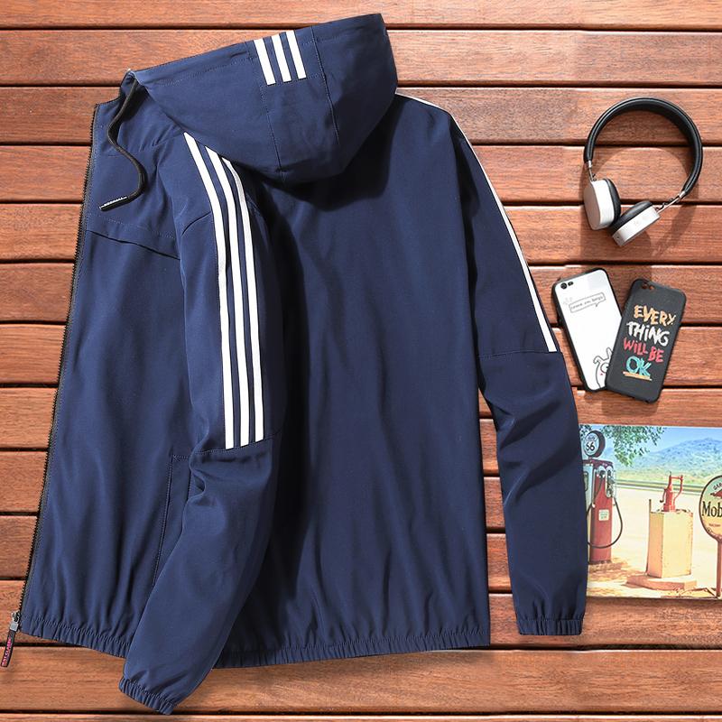 男士春秋夹克运动外套休闲装棒球服上衣男装