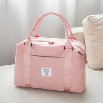 旅行包女短途手提轻便防水行李包大容量出差旅游待产包收纳行李袋