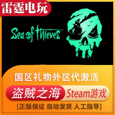 PC中文正版Steam游戏 盗贼之海 Sea of Thieves 开放世界国区礼物