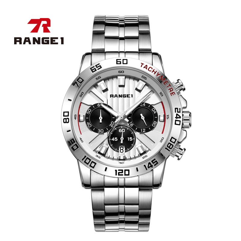RANGE1官方正品手表男士新款2019时尚潮流简约运动防水学生手表