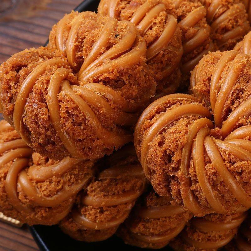 【净重2斤】天津风味麻花传统手工夹心甜咸麻花好吃的零食糕点