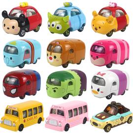TOMY多美卡合金玩具车模型叠叠乐米奇米妮史努比巴士蜘蛛侠钢铁侠图片