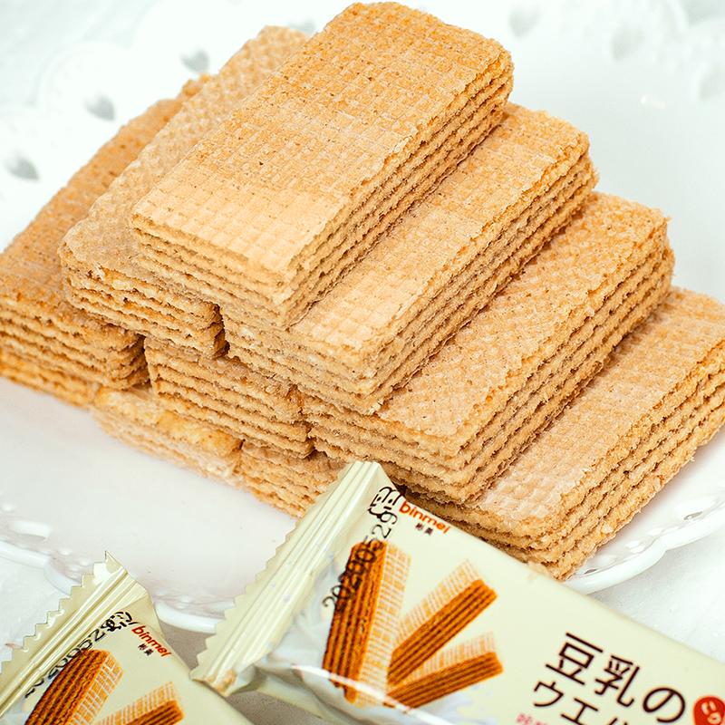 【第二件7元】豆乳夹心威化饼干