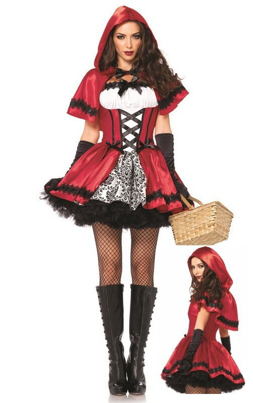 Witch Costume Christmas Costume performance King costume cosds nightclub role play costume Little Red Riding Hood Costume Halloween Costume female