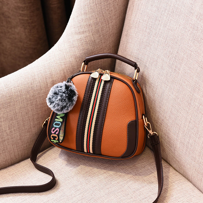 Your one shoulder cross carrying handbag is fashionable and versatile