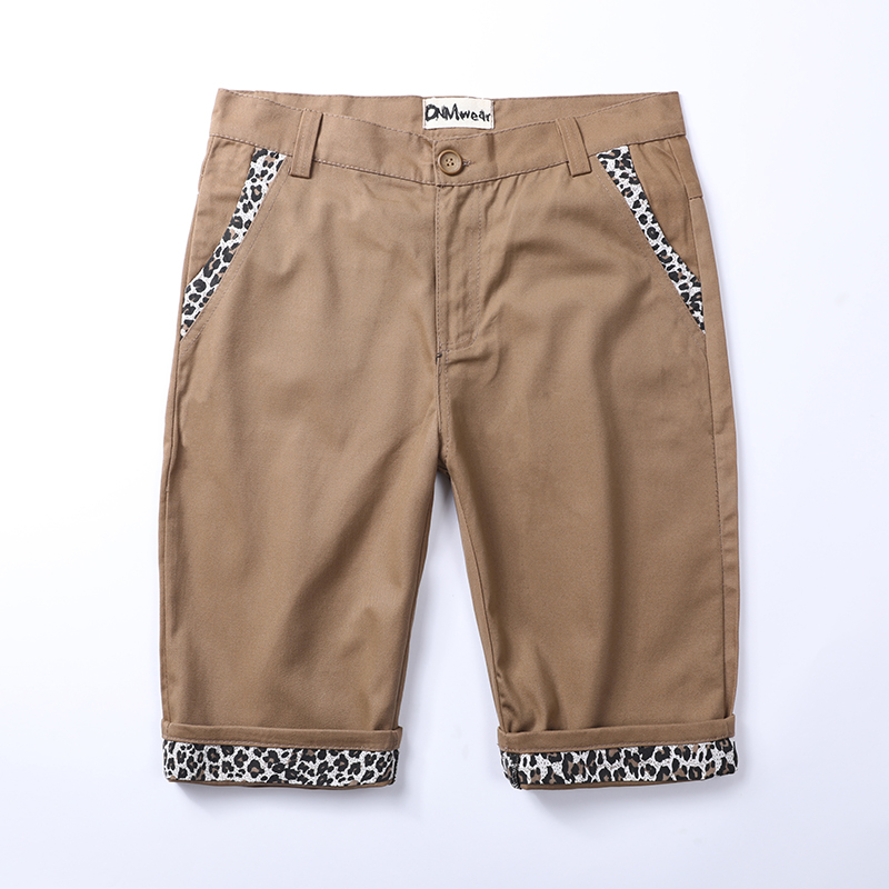 Summer new mens shorts Korean fashion slim fit Capris versatile fashion brand casual personality handsome pants man