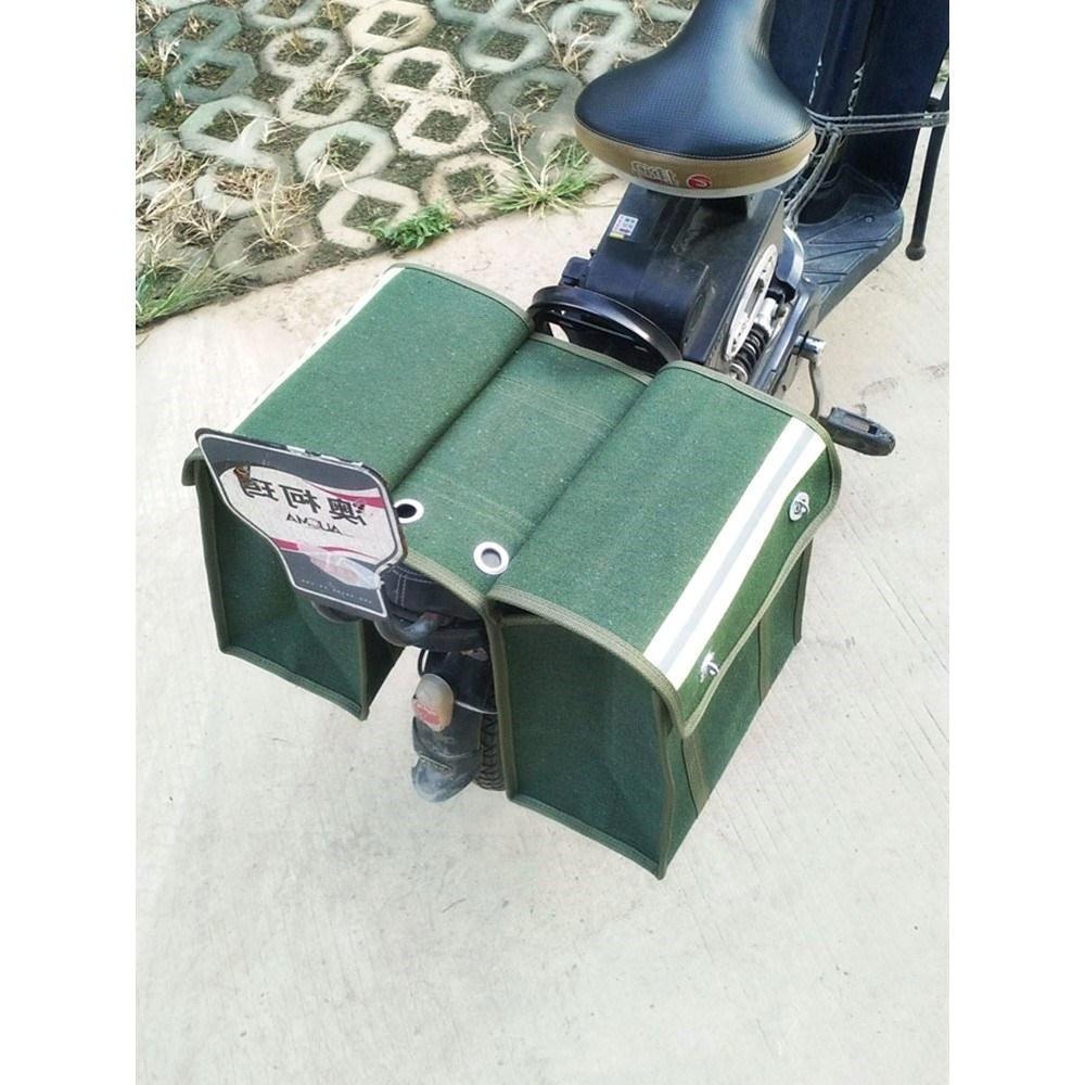 新品员帆布挂政工具包驼鞍袋快递加大邮局邮袋钓摩托车