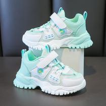 新款网面透气镂空男孩大童运动鞋夏季儿童鞋子2020回力男童单网鞋
