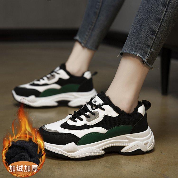 百搭厚底休闲旅游跑步鞋运动鞋老爹鞋女鞋