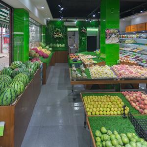 绿色水果蔬菜店防滑草垫子植物背景墙冷柜生鲜装修饰仿真柔软草坪