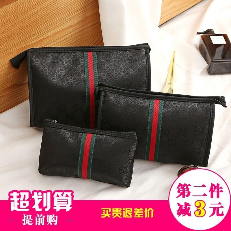 Make up bag large capacity, multi-function, simple and portable small size travel girls washing bag storage bag