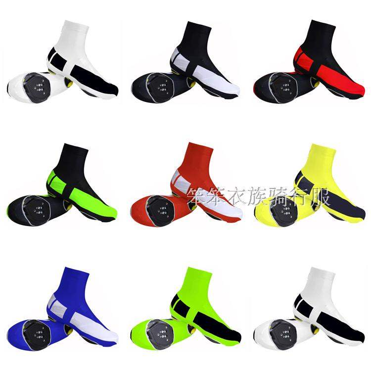 Dust proof road bicycle team version riding shoe cover anti slip lock shoe cover desert hiking wear resistant foot cover customization