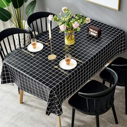 Tablecloth PVC table cloth desk cloth art web cele table mat