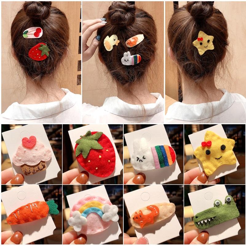 可爱少女lolita草莓ins网红刘海夹12-01新券