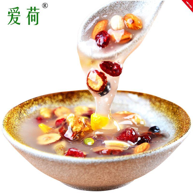 爱荷坚果藕粉即食方便早餐水果干藕粉羹非杭州西湖特产450g小袋装