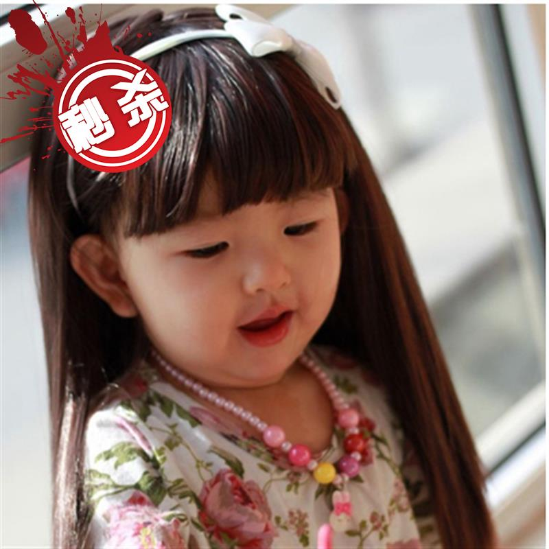 ? Wavy curly wig with round face on the head role play one, boy curly hair girl hair with child f false