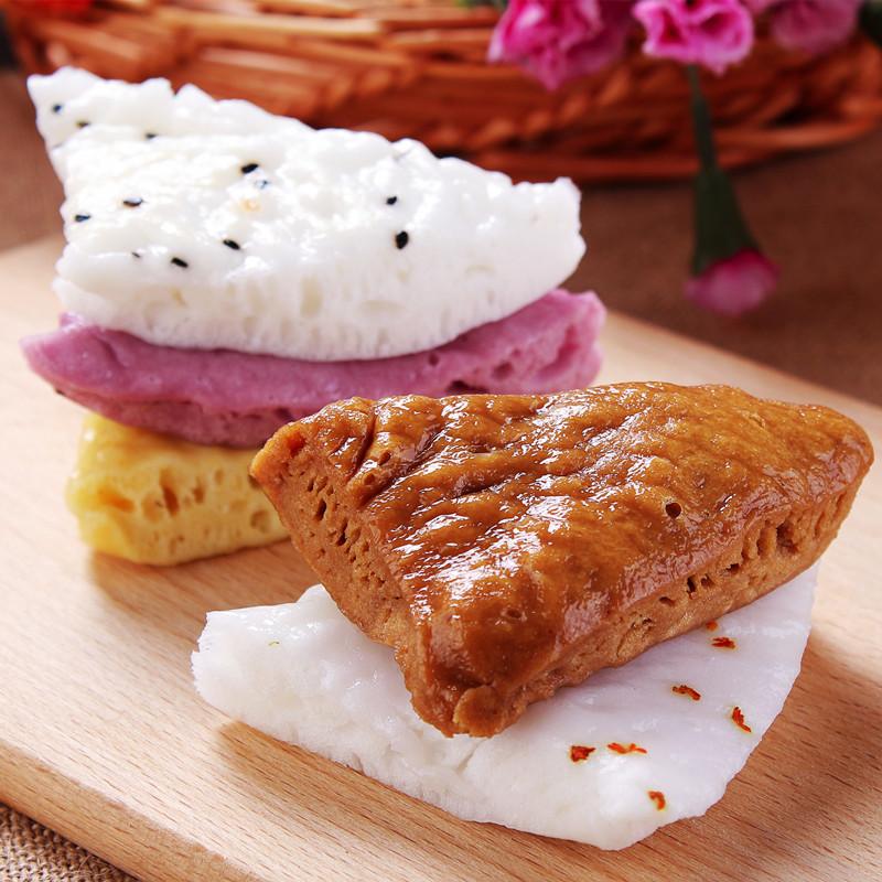 宁波产糖洋糕 多味酒酿发糕 米馒头 米糕 水塔糕 多口味水塔糕