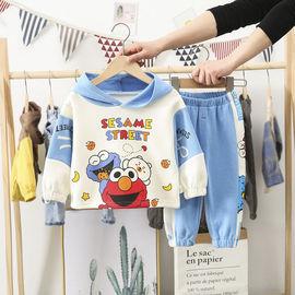 童装男童春装套装2020新款宝宝0一1-2-3岁女小童两件套婴儿童衣服图片