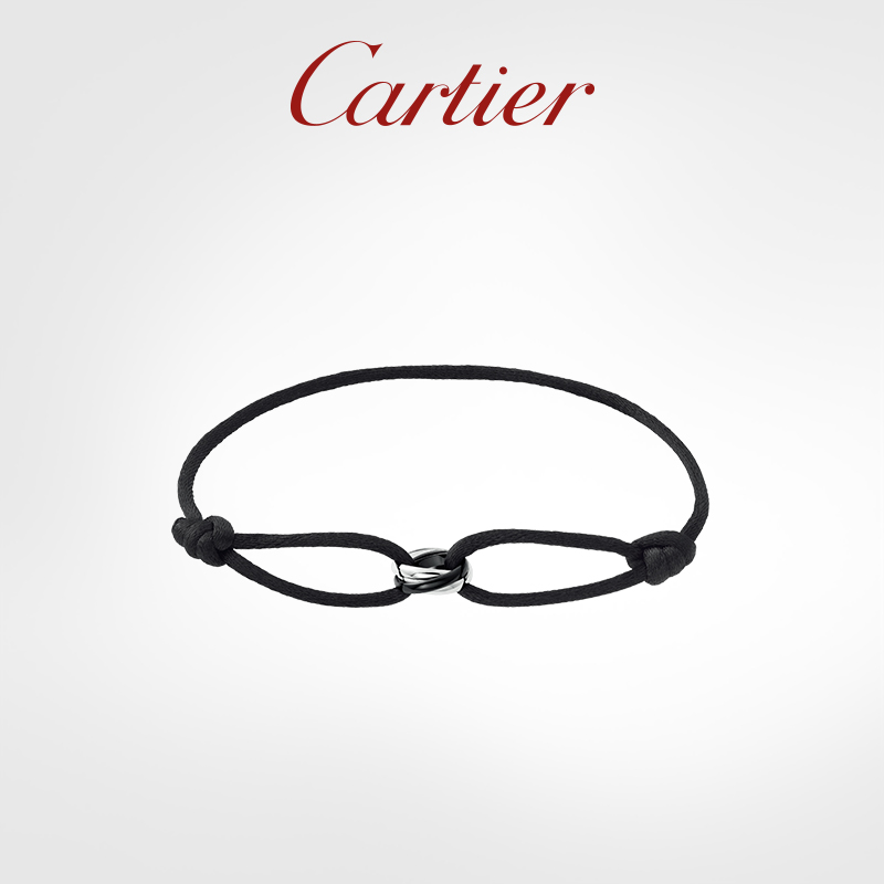 Cartier Cartier Trinity Series Bracelet Rose Gold White Gold Ceramic Tri-color Gold Bracelet