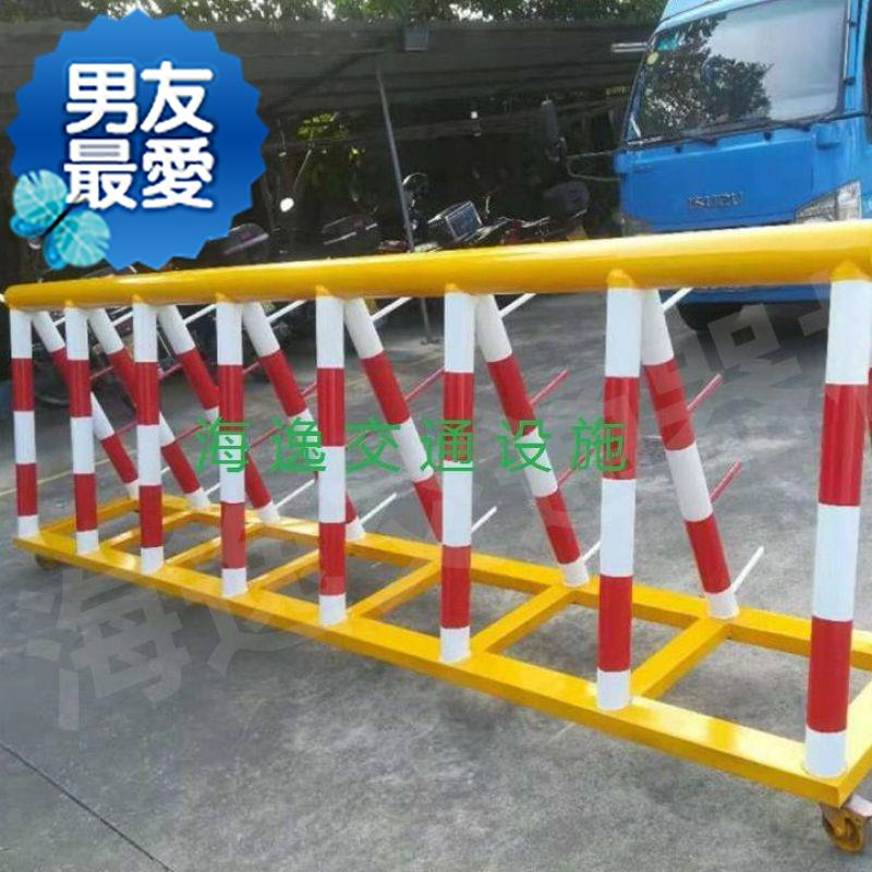 Anti collision and anti horse school blocking traffic collision g unit shaped guardrail preventing door from blocking road block rejecting