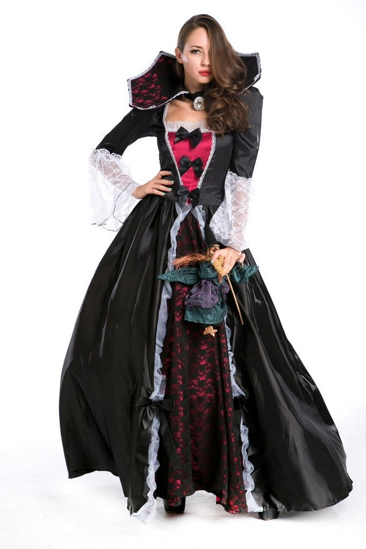 Costume, costume, prom, cosplay costume, party, stage performance costume, Halloween Vampire luxury girl