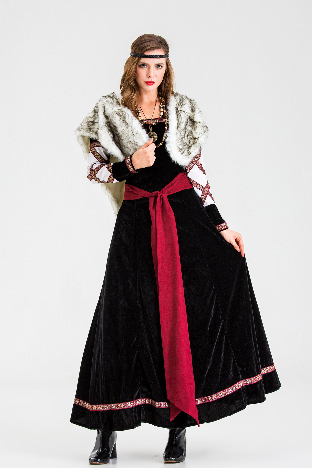 Pirate Cosplay role play costume savage Costume Halloween Adult warrior costume dress woman