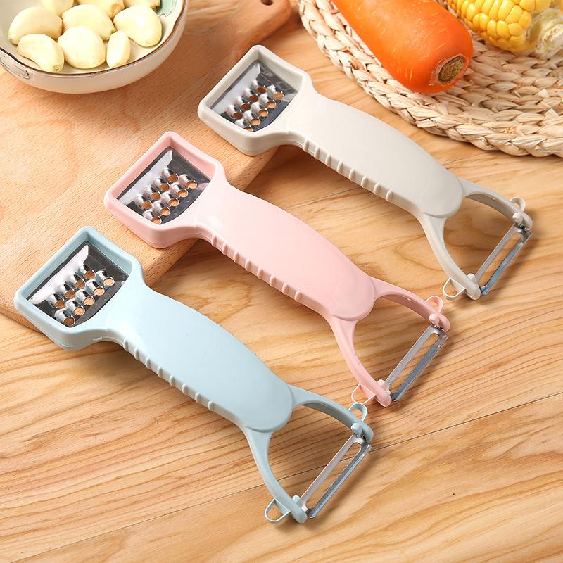 厨房多功能削皮刀水果削皮器土豆刨丝刮皮器果皮刀削苹果刨皮