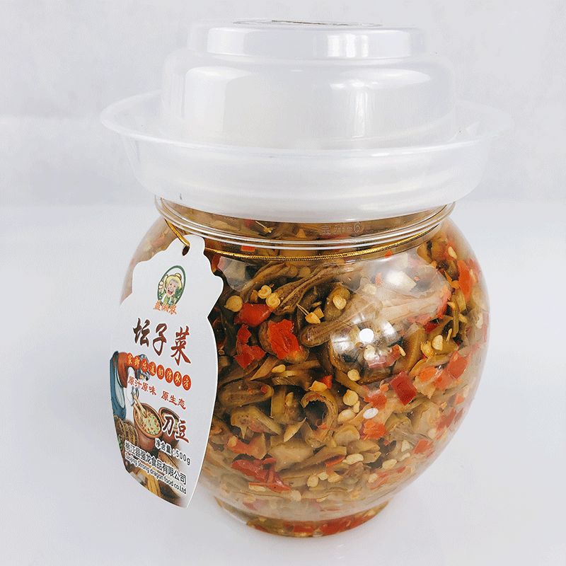 Chopped chili pepper Hunan farmhouse scallion homemade pickled chili sauce chopped chili agricultural products local specialty farmhouse