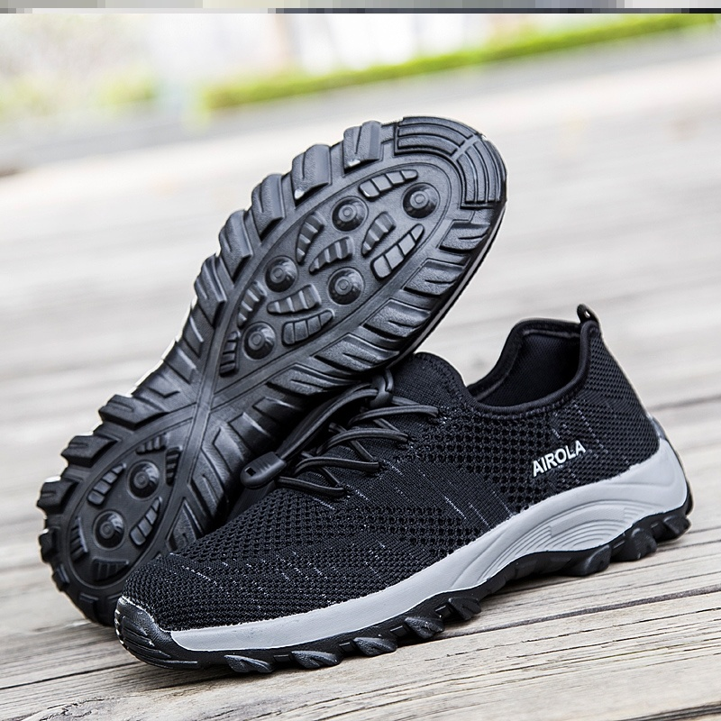 Mens spring 33 black mens tennis dance shoes Xiaxin extra large mountain climbing shoes casual shoes mens 49 foot