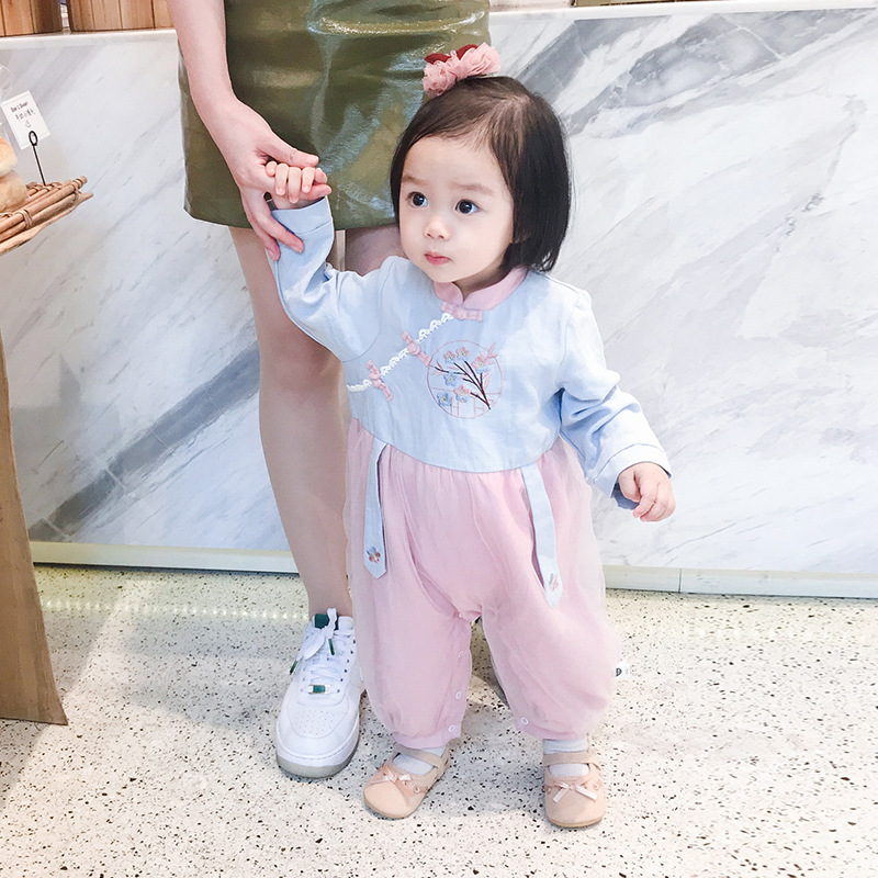 Mini 0-3-year-old childrens one-piece clothes