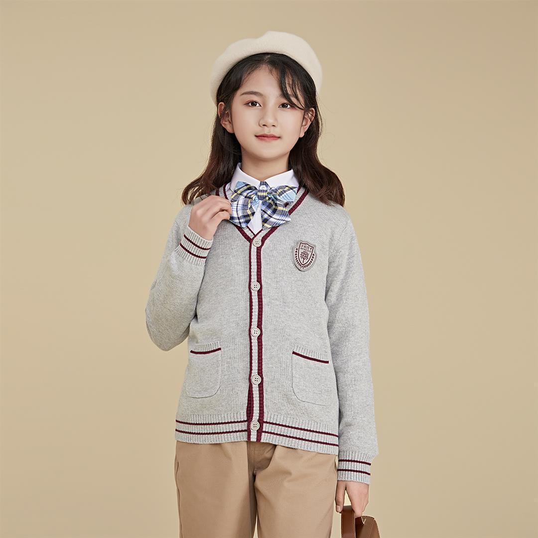 New school designated store golden bird school uniform Jiangxi University of science and technology affiliated primary school uniform I set (girls)