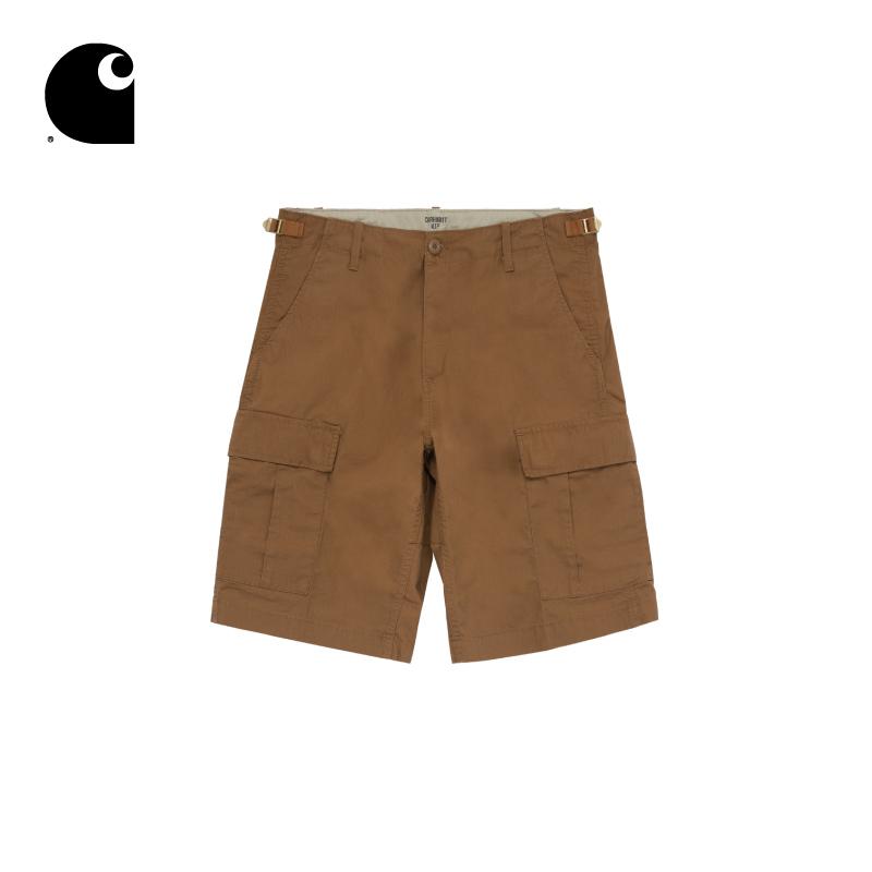 Carhartt WIP男装经典LOGO标签多口袋工装休闲短裤09758X8