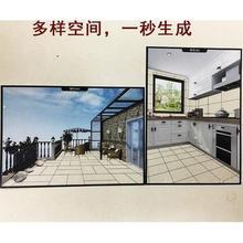 厕所欧式 阳台过道外墙神器销售卧室看图瓷砖装 修效果展示图卫生间