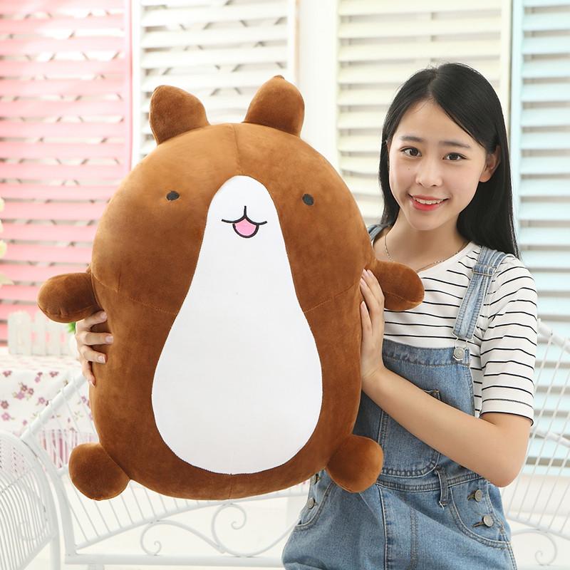 可爱萌宠Molang兔土豆熊布娃娃毛绒玩具兔公仔抱枕韩国搞怪礼物女