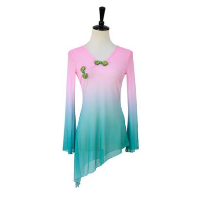 古典舞纱衣外套长款图片