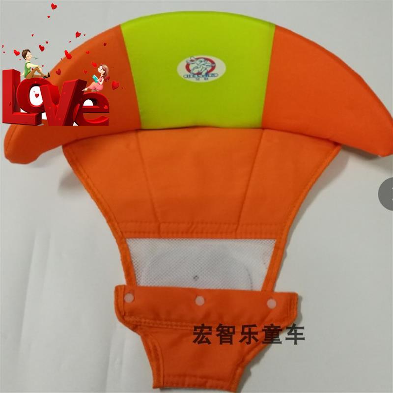 。新手拉l车学步车布坐垫通用零件万向童床滑行轮童车助步车咕噜