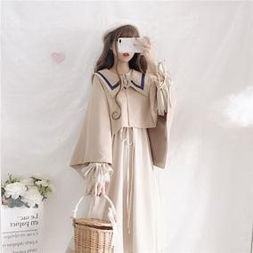 新款秋冬季套装日系娃娃领连衣裙
