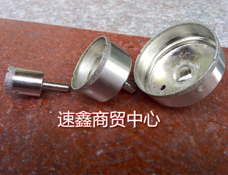 The drill bit is made of diamond glass. Sleeve bracelet jade boutique open cylinder Bracelet processing agate drill