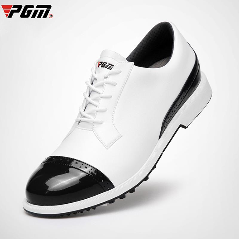 Suitable for PGM golf shoes mens waterproof anti sideslip stud 2020 new soft and breathable gol