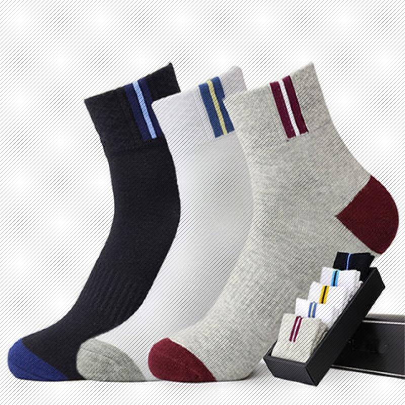 [5-10 pairs] socks mens medium socks deodorant sports medium socks fashion medium socks socks
