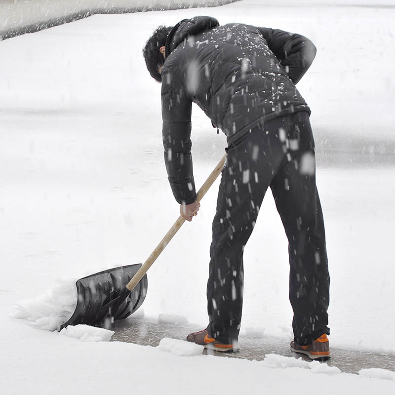 Развивать крупные утепленный Лопата с лопатой для снега панель Снегоуборочная техника панель 111801