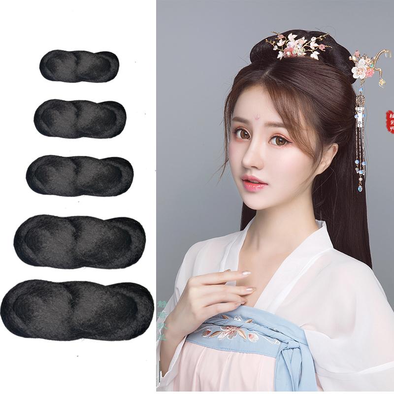 Costume Wig twist bag antique Hanfu daily versatile hair bun 8-word contract fairy studio cos style