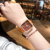 ins2019年新款欧亚利女士手表全自动机械表夜光防水时尚手表女风