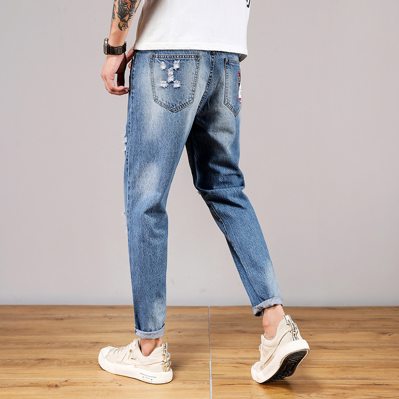Mens casual jeans and Harem Pants in spring