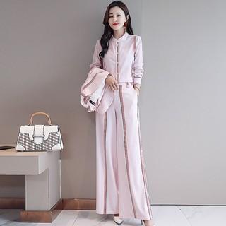 2021年早秋新款女装套装时尚潮流气质三件套小个子穿搭秋季搭配
