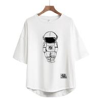 太空熊猫2021夏季短袖潮牌nasa t恤评价好不好